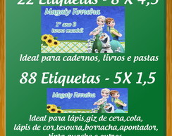 KIT ETIQUETA ESCOLAR- FROZEN FEVER