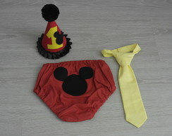 conjunto samash the cake mickey 4