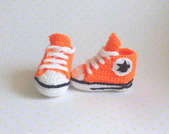All star de croch� laranja