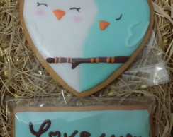 Cookies Birds in love