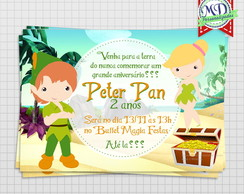 Convite Digital Peter Pan