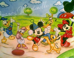 Painel infantil Mickey
