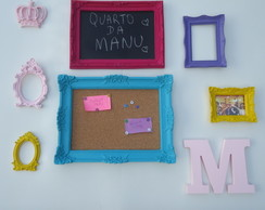 Kit Decora��o Quarto Teen