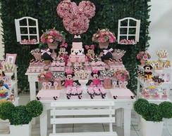 Decora��o Minnie Rosa I