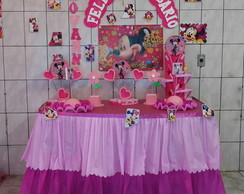 Decora��o Infantil Minnie Rosa