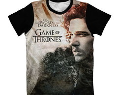 Camisa Game of Thrones Jon Snow
