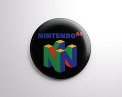 Botton - Nintendo 64 logo comprar usado  Brasil