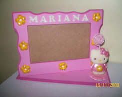 Porta retrato personalizado Hello Kitty