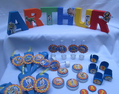 kit festa infantil no tema Toy Story