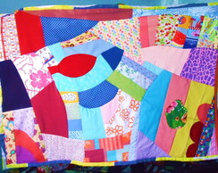 Tapete Patchwork Grande Fofo-Encomende