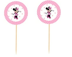 20 Topper Minnie Rosa