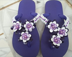 Chinelo 3 Flores
