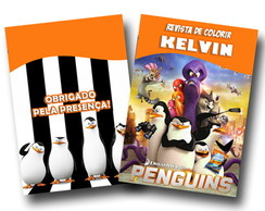 Revista Pinguins de Madagascar 14x10