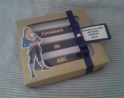 Caixa com visor Formatura do ABC