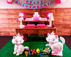 Kit Decora��o Gatinha Marie Festa Infant
