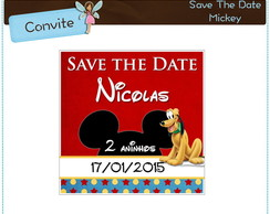Save The Date Mickey e amigos