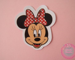 Aplique / Recorte Cabe�a Minnie