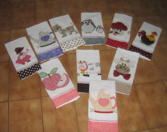 10 panos de prato patch aplique cod a35