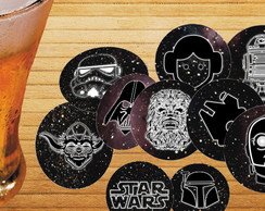 Kit Bolachas de Chopp Star Wars