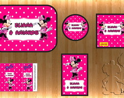 Arte Kit Digital - Minnie Rosa