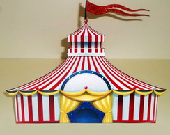 DISPLAY DE CH�O TENDA DE CIRCO