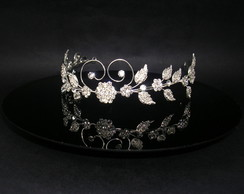 Tiara de strass CR121