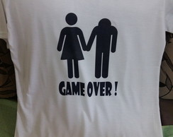 Camisa masculina Game Over!
