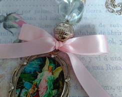 Medalh�o Ber�o Anjo Guarda Ora��o/ Color