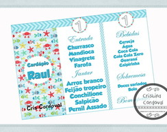 Card�pio Fundo do mar