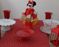 Aluguel do kit de festa da Minnie