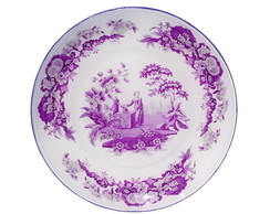 Prato Decorativo Vintage Purple