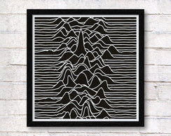 JOY DIVISION-Unknown Pleasures - QUADRO