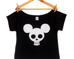 T-shirt Mickey Caveira
