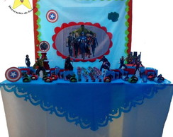 Kit decorativo de festa Vingadores
