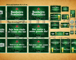 Kit digital - Ch� bar - Heineken