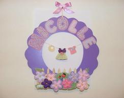 Guirlanda Porta de Maternidade