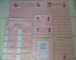 Kit de pain�is Educa��o Infantil