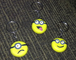 LEMBRANCINHA MINIONS CHAVEIRO BISCUIT