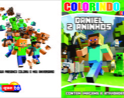 Revistinha de Colorir Minecraft