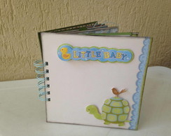 Mini �lbum Scrapbook - Little baby