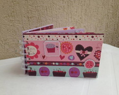 Mini �lbum Scrapbook - Love