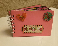 Mini �lbum Scrapbook - Memories