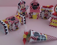 personalizados minnie -kit com 60 pe�as