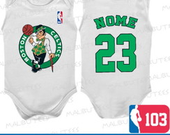 Body Regata Boston Celtics Basquete Nba