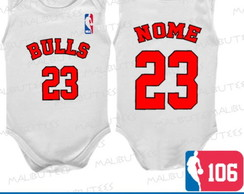 Body Regata Chicago Bulls Basquete Nba
