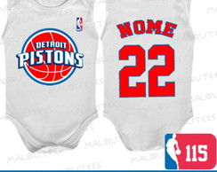 Body Regata Detroit Pistons Basquete Nba