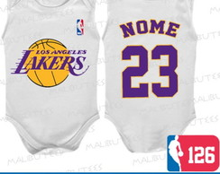 Body Regata Los Angeles Lakers Basquete
