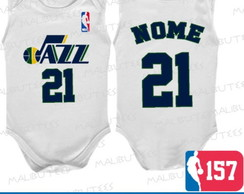 Body Regata Utah Jazz Basquete Nba