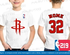 Camiseta Infantil Houston Rockets Nba