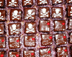 MINI BROWNIE DO PIRATINHA